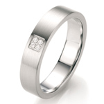 Prsten s diamantem TeNo Partnerring TaMoR 069-18P01