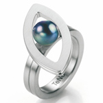 Prsten s diamantem TeNo Nava