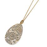 Přívěsek s krystaly Swarovski Oliver Weber Elite Gold