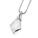 Pøívìsek s krystaly Swarovski Oliver Weber Vitality Silver