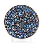Prsten s krystaly Swarovski Rock 11700553BB