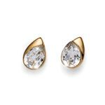 Naušnice s krystaly Swarovski Oliver Weber Be Gold
