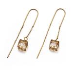 Náušnice s krystaly Swarovski Oliver Weber Clube Gold