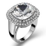 Prsten s krystaly Swarovski Oliver Weber Autentic Crystal
