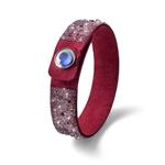 Náramek s krystaly Swarovski Oliver Weber Disco 32190-RED