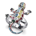Prsten s krystaly Swarovski Oliver Weber Gaudí Drac