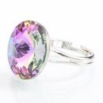 Prsten s krystaly Swarovski Rivoli 47112218VL