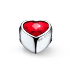 Přívěsek s krystaly Swarovski Oliver Weber Close Heart Siam