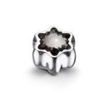 Přívěsek s krystaly Swarovski Oliver Weber Flake Silver 56023