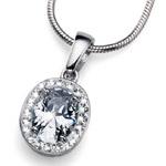 Přívěsek s krystaly Swarovski Oliver Weber Pure Crystal