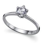 Stříbrný prsten Oliver Weber Brilliance