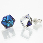 Náušnice s krystaly Swarovski 713887BB