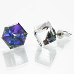 Náušnice s krystaly Swarovski 713887HELIO