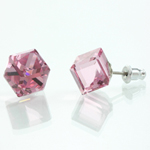 Náušnice s krystaly Swarovski 713887RO