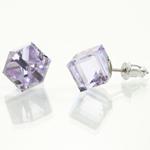 Náušnice s krystaly Swarovski 713887VIO