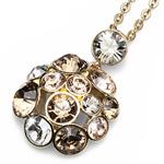 Přívěsek s krystaly Swarovski Oliver Weber Noche Gold