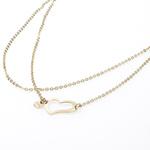 Ocelový náhrdelník Storm Heart