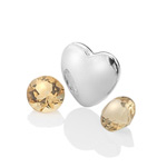 Přívěsek Hot Diamonds Srdce Listopad Anais element EX130