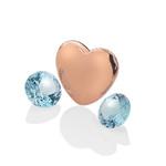 Pøívìsek Hot Diamonds Srdce Prosinec Anais element EX143