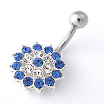 www.piercing-sperky.cz : Piercing SBSF3blue