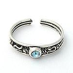 www.piercing-sperky.cz : Prsten na nohu TR028lightblue