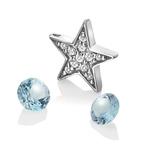 Pøívìsek Hot Diamonds Anais element hvìzda modrý Topaz AC110