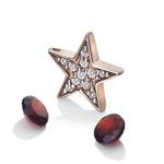 Pøívìsek Hot Diamonds Anais element hvìzda Granat RG AC111