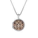 Přívěsek Hot Diamonds Small Circle Filigree Locket RG DP668