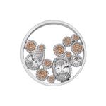 Pøívìsek Hot Diamonds Emozioni Spirito Libero Freedom Champagne Coin 448-449