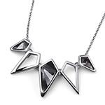 Støíbrný náhrdelník s krystaly Swarovski Oliver Weber 11782