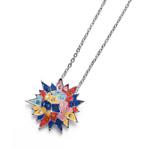 Pøívìsek s krystaly Swarovski Oliver Weber Sun 11824