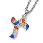 Přívěsek s krystaly Swarovski Oliver Weber Gaudi Croix 11826