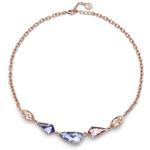 Náhrdelník s krystaly Swarovski Oliver Weber Artnew rosado multi 11829