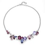 Přívěsek s krystaly Swarovski Oliver Weber Vary violet 11870