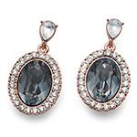 Náušnice s krystaly Swarovski Oliver Weber 22652RG