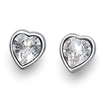 Støíbrné náušnice s krystaly Swarovski Oliver Weber 22679R-001