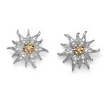 Náušnice s krystaly Swarovski Oliver Weber Edelweiss 22708