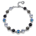 Støíbrný náramek s krystaly Swarovski Oliver Weber 32194-215
