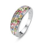 Prsten s krystaly Swarovski Oliver Weber Ring Floral 41142