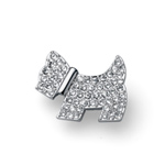 Brož s krystaly Swarovski Oliver Weber Doggy 58044