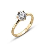 Prsten s krystaly Swarovski Oliver Weber 63222GL