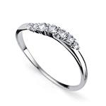 Stříbrný prsten s krystaly Swarovski Oliver Weber 63227RL