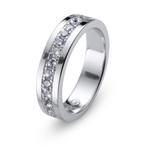Stříbrný prsten s krystaly Swarovski Oliver Weber Ring Everlast 63228
