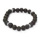 Pánský náramek s krystaly Swarovski Oliver Weber  Beads 67022