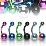 Titanový piercing do pupíku BS01033