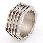 Titanový prsten Storm Corio XL