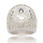 Prsten s krystaly Swarovski Crystallis Cosmos Exkluzive
