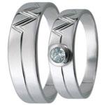 Snubní prsteny kolekce D13