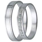 Snubní prsteny kolekce D28