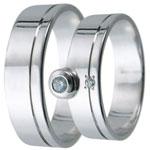 Snubní prsteny kolekce D3